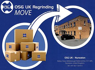 OSG UK REGRIND SERVICE